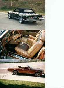 Cadillac Seville San Remo convertible, customized by Coach Design Group. Not to be confused with ...
